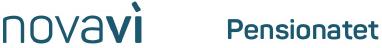 novavi pensionatet logo med hvid baggrund